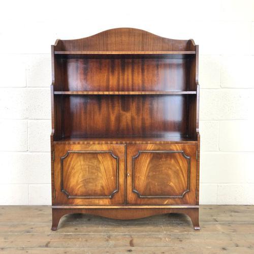 20th Century Reproduction Mahogany Bookcase (1 of 9)