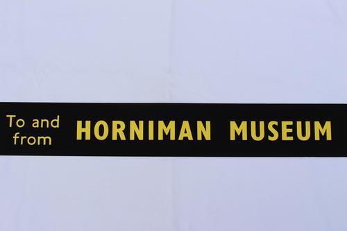London Transport Slipboard Poster for Horniman Museum (1 of 1)