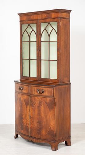 Regency Style Mahogany Bookcase c.1920 (1 of 7)