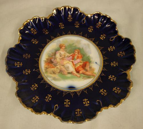 Austrian Decorated Cabinet Plate (1 of 4)