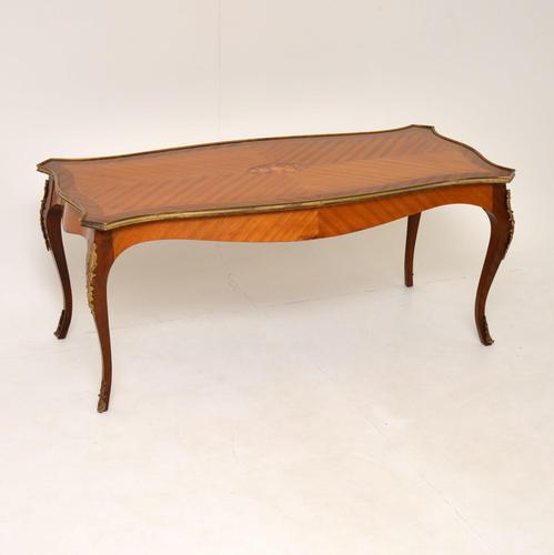 Antique French Inlaid Marquetry Coffee Table (1 of 8)