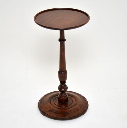 Antique  Victorian Mahogany Wine Table (1 of 5)