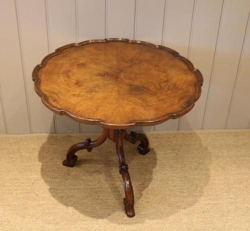 Good Quality Low Walnut Table (1 of 10)