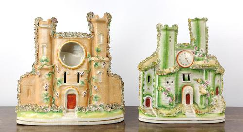 Two 19th Century Staffordshire Castles (1 of 7)