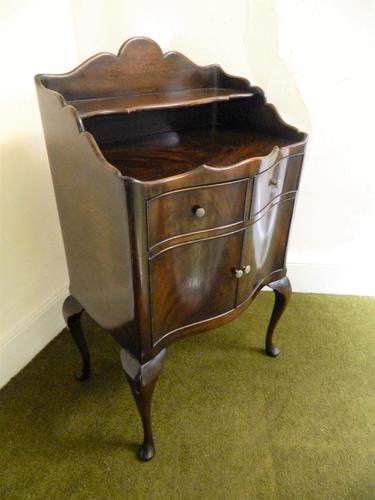 Mahogany Bedside Cabinet / Cupboard (1 of 6)