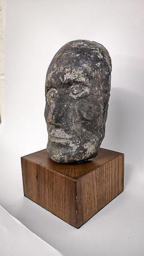 Folk Art Memorial Portrait Mask (1 of 5)