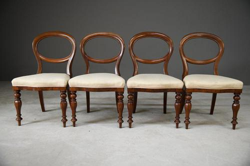 Set 4 Victorian Style Dining Chairs (1 of 11)