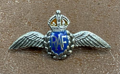 Silver & Enamel RAF Brooch (1 of 2)
