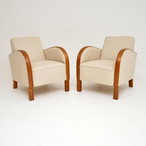 Pair of Swedish Art Deco Armchairs (1 of 12)