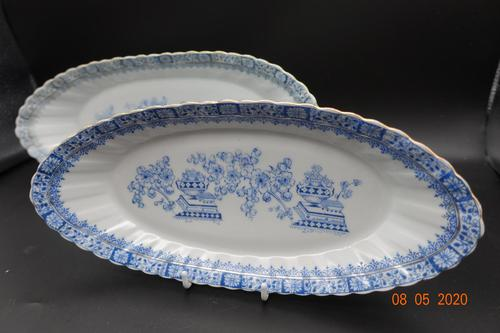Pair of Early 20th Century Porcelain Serving Dishes (1 of 5)