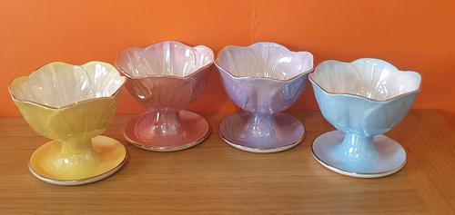 Maling Ware Lustre Sundae Dishes (1 of 7)