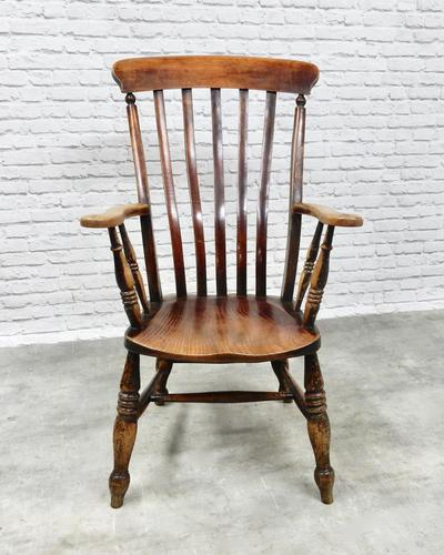 Large Windsor Lathback Armchair (1 of 6)