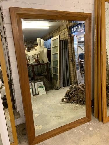 Walnut Wall Mirror (1 of 3)