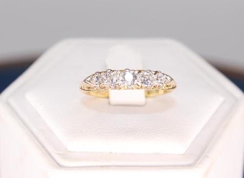 18ct 40 PTS Diamond Ring (1 of 7)