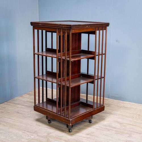 19th Century Revolving Bookcase (1 of 7)