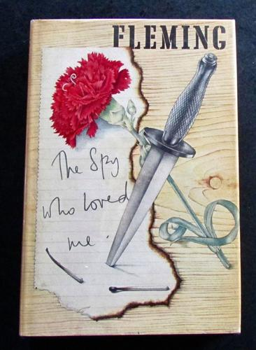 1965 The Spy Who Loved Me by Ian Fleming with Original Dust Jacket (1 of 4)