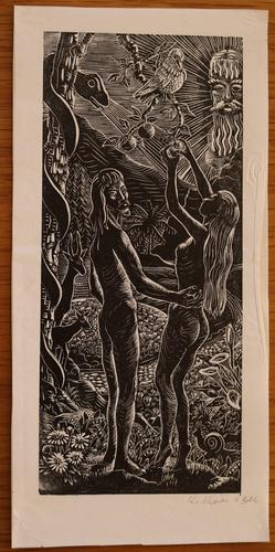 Adam and Eve by Kathleen Mary Bell (1 of 4)