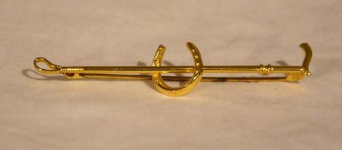 9ct Gold Hunting Cravat Pin (1 of 2)