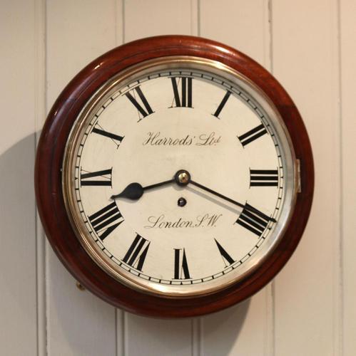 Mahogany Dial Clock by Harrods (1 of 12)