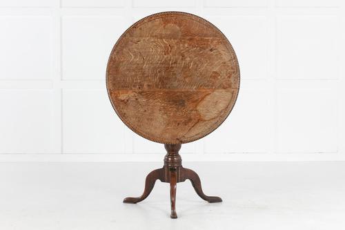George III Inlaid Tripod Table (1 of 6)