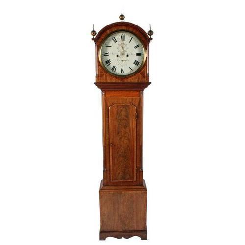 Scottish Georgian Grandfather Clock (1 of 8)