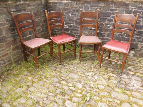 William Birch Arts & Crafts Chairs (1 of 7)