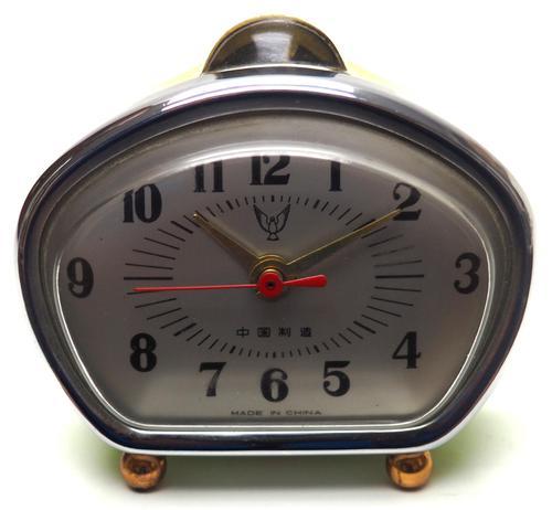 Amazing Vintage Japanese Art Deco Bedside Mantle Clock (1 of 8)