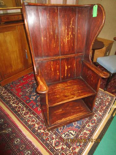 19th Century Painted Lambing Chair (1 of 6)