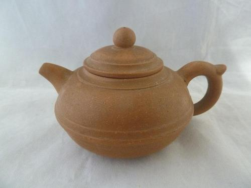 Fine 19th Century Chinese Duanni Body Yixing Teapot - Signed (1 of 4)