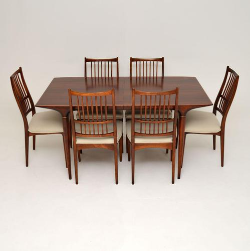 Swedish Vintage Rosewood Dining Table & Chairs by Svante Skogh (1 of 16)