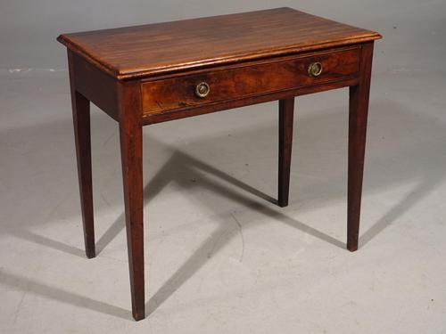 George III Period Mahogany Side Table (1 of 4)