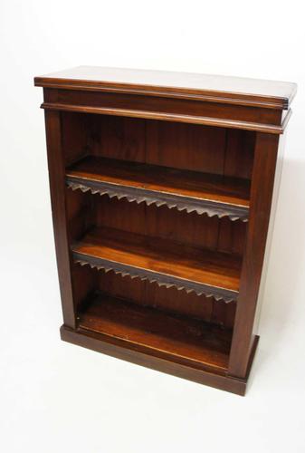 Small Victorian Mahogany  Open Bookcase (1 of 17)