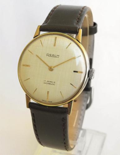 Gents 1960s Realm wrist watch (1 of 4)