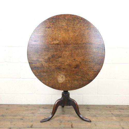 Georgian Oak Snap Top Table (1 of 8)