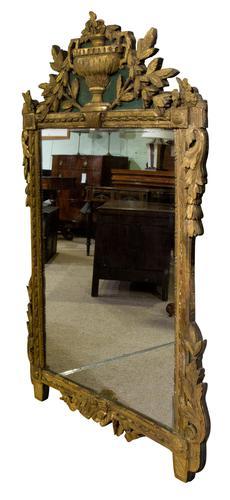 A Gilded Louis XVI Mirror (1 of 5)