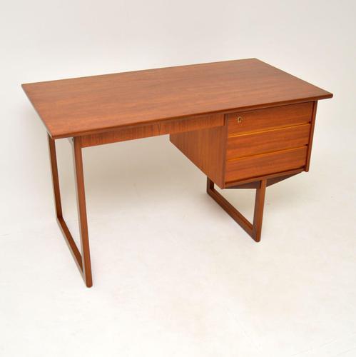 1960's Danish Teak Desk by VI-MA Mobler (1 of 12)