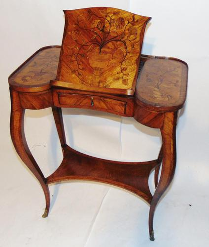 Louis XV Kingwood & Marquetry Poudreuse (1 of 15)