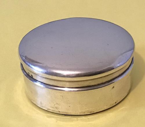 Antique Silver Trinket Pot (1 of 5)