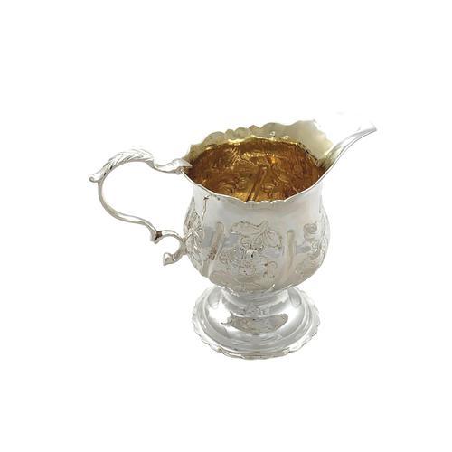 Antique Georgian Sterling Silver Jug 1763 (1 of 8)