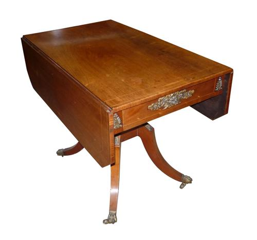 Regency Inlaid Mahogany Pembroke Table c.1820 (1 of 1)