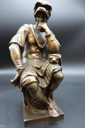 Finely Cast Early 20th Century Bronze Figure of a Centurion by R Bellair & Co (1 of 5)