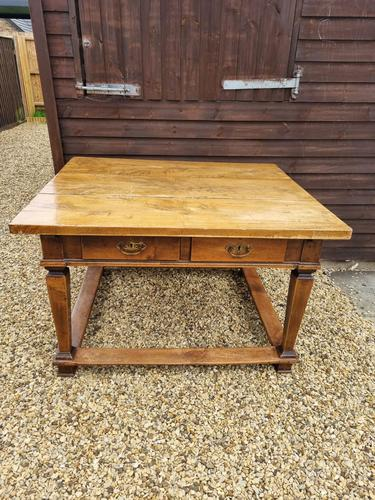 Late 18th Century Tyrolean Austrian Fruitwood Table (1 of 5)