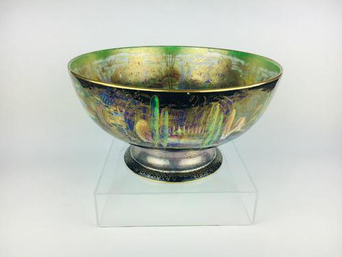 Daisy Makeig-Jones/Wedgwood - Magnificent Fairyland Lustre Punch Bowl c.1925 (1 of 12)