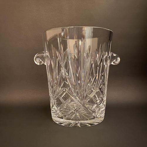 Extra Large Cristal d'Arques Crystal Champagne Ice Bucket (1 of 2)