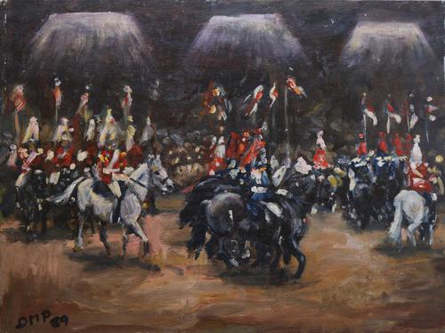 Horses on Parade by Diana Perowne (1 of 6)
