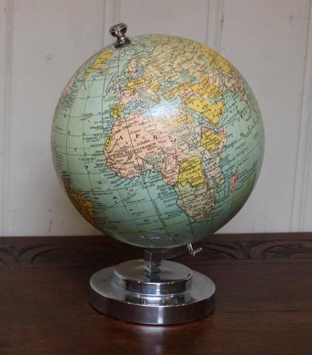 7 Inch  French Terrestrial Globe (1 of 8)