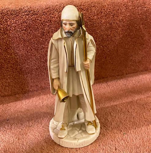 """Rare Royal Worcester Porcelain Figure by James Hadley, """"Ye Watchman"""" (shape 998) (1 of 5)"""