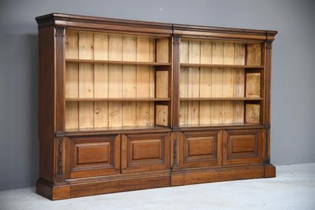 Antique Mahogany Bookcase (1 of 10)
