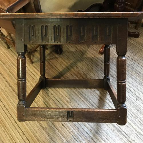 Oak Square Coffee Table (1 of 8)