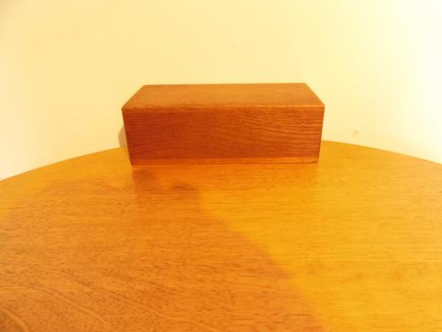 Small Simple A&C Style Oak Box (1 of 8)
